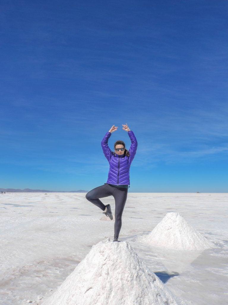 Salar de Uyuni, Salt Flats, Mountain