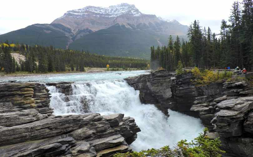 Althabasca Falls Jasper Alberta Rockies Photo of the Fortnight 13