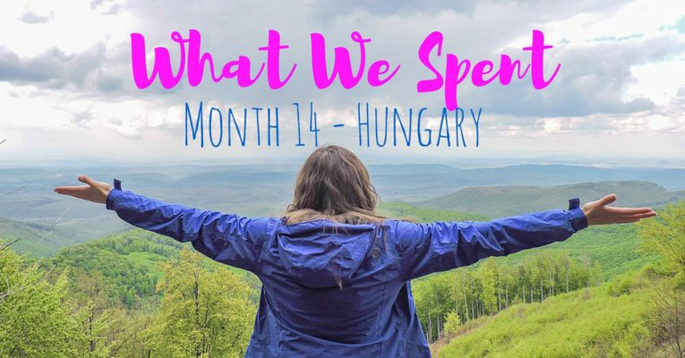 What We Spent I Hungary Travel Budget I Month 14 copy