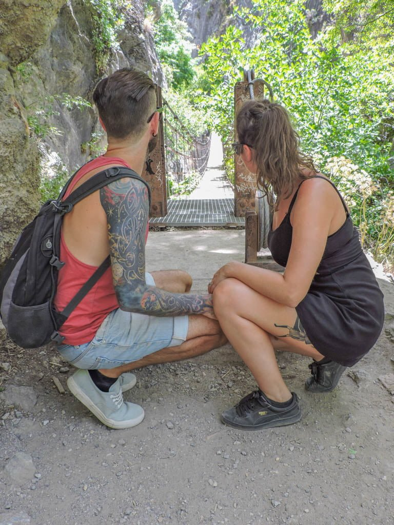 Hanging Bridges of Los Cahorros I Granada Hike I Photo of the Fortnight 30 I Sunny Spain and Pretty Portugal